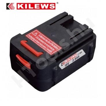 Kilews SKC-LB1840 Li-Ion akku SKC-PTA akkus gépekhez és SKC-P80W - SKC-P120W töltőkhöz