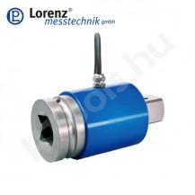DV-14 álló, reaktív, nem forgó nyomatékmérő szenzor sorozat belső és külső négyszög csatlakozással - 1...5000 Nm - 0.2 % - 0.1 %
