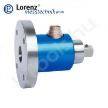 DFW-35 álló, reaktív, nem forgó nyomatékmérő szenzor tárcsa és külső négyszög csatlakozással - 2-2000 Nm - 0.2 % - 0.1 %