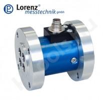 D-2209 álló, reaktív, nem forgó nyomatékmérő szenzor kétoldali tárcsa  csatlakozással, 1-5 Nm, 0.2 %