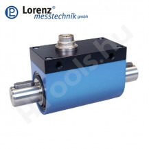 DR-20 forgó, csúszógyűrűs nyomatékmérő szenzor kétoldali reteszes tengely csatlakozással - 1-500 Nm - 0.1 %