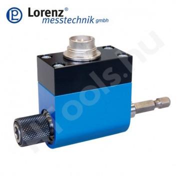 """DR-2291 forgó, csúszógyűrűs nyomatékmérő szenzor belső és külső 1/4"""" HEX csatlakozással - 1-20 Nm - 0.1 %"""