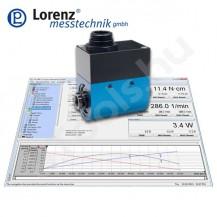 DR-3001 forgó, érintésmentes nyomatékmérő szenzor - USB - belső és külső négyszög csatlakozással - 0.1-5000 Nm - 0.1 %