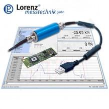LCV-USB3 digitális USB szenzor interfész tartozék szoftverrel PC csatlakoztatáshoz