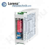 GM40 DIN sínre szerelhető mérőerősítő  közvetlen PLC csatlakozással, nyúlásmérő bélyeges szenzorokhoz