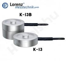 K-13 nyomó erőmérő cella - terhelés gomb / belső menetek - 0.01-100 kN - 0.5% - 1 mV/V