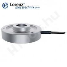 K-2528 nyomó erőmérő cella - sík felület középső átmenő furattal és rögzítő furatokkal - 0.2-10 kN - 1% - 1 mV/V