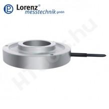 K-2529 nyomó erőmérő cella - sík felület középső átmenő furattal és rögzítő furatokkal - 0.5-20 kN - 1% - 1 mV/V