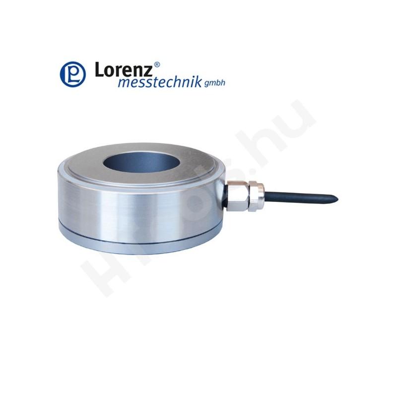 K-181 nyomó erőmérő cella - sík felület középső átmenő furattal - 15-1500 kN - 3% - 1 mV/V