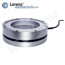 K-1250 nyomó erőmérő cella - külső gyűrűs felület középső átmenő furattal - 2-100 kN - 0.5% - 1 mV/V