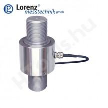K-12 húzó és nyomó erőmérő cella - kétoldali külső menet - 0.5-1000 kN - 0.1%...0.25% - 2 mV/V