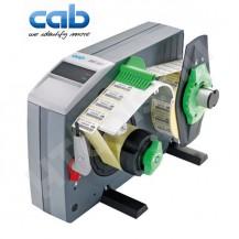 CAB HS120 ipari automata címkeadagoló, 20-120 mm címke szélesség, max 200 mm címke tekercs átmérő, 8-600 mm címke magasság