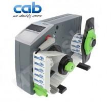 CAB VS120 ipari automata címkeadagoló, 20-120 mm címke szélesség, max 200 mm címke tekercs átmérő, 8-600 mm címke magasság