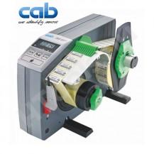 CAB HS120+ ipari automata címkeadagoló, 20-120 mm címke szélesség, max 200 mm címke tekercs átmérő, 8-600 mm címke magasság