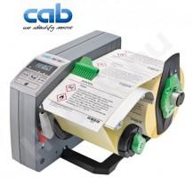 CAB HS180+ ipari automata címkeadagoló, 80-180 mm címke szélesség, max 200 mm címke tekercs átmérő, 20-600 mm címke magasság