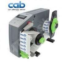 CAB VS60+ ipari automata címkeadagoló, 8-65 mm címke szélesség, max 200 mm tekercs átmérő, 5-300 mm címke magasság