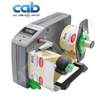 CAB VS120+ ipari automata címkeadagoló, 20-120 mm címke szélesség, max 200 mm címke tekercs átmérő, 8-600 mm címke magasság