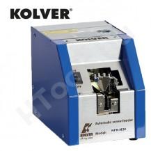 KOLVER NFK-UNI automata csavaradagoló, állítható sín M1.4-M5 csavarokhoz, max. 20 mm csavarhossz csavarfej nélkül