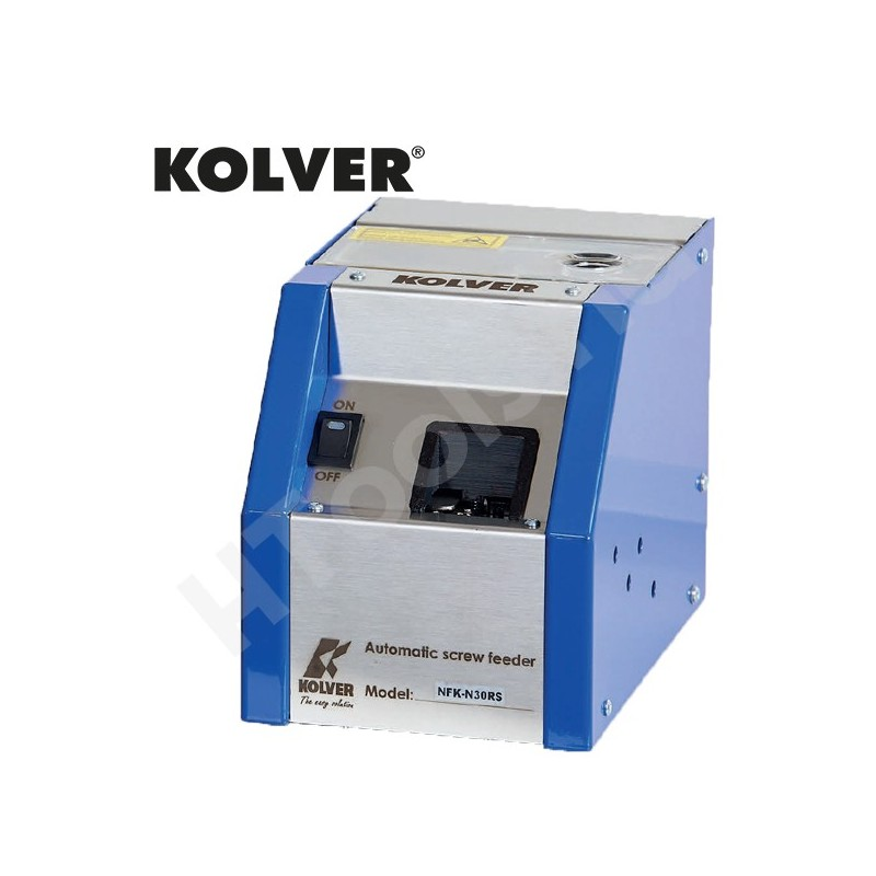 KOLVER NFK-N50RS automata csavaradagoló, fix sín M5 csavarokhoz, max. 20 mm csavarhossz