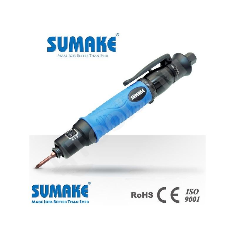 SUMAKE FL020 ipari pneumatikus csavarbehajtó, automata lekapcsolás, egyenes csavarozó, 0.3-2 Nm, 2200 rpm