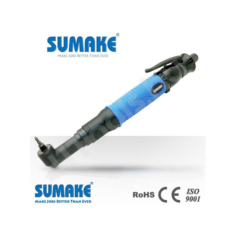 SUMAKE FA075 ipari pneumatikus sarokcsavarozó, automata lekapcsolás, szögfej csavarozó, 1.2-7.5 Nm, 1000 rpm