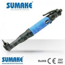 SUMAKE FA180 ipari pneumatikus sarokcsavarozó, automata lekapcsolás, szögfej csavarozó, 3-18 Nm, 300 rpm