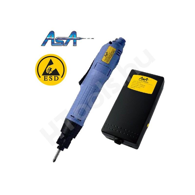 ASA-6000-ESD elektromos csavarozógép, automata lekapcsolás, 0.15-1.2 Nm, 650-1150 f/perc