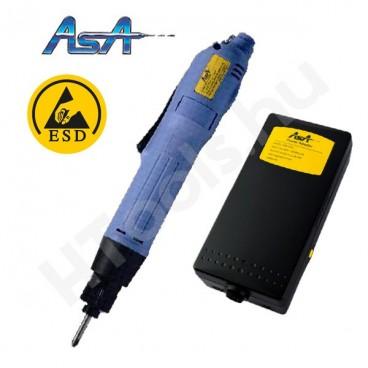 ASA-6500-ESD elektromos csavarozógép, automata lekapcsolás, 0.4-2 Nm, 550-850 f/perc