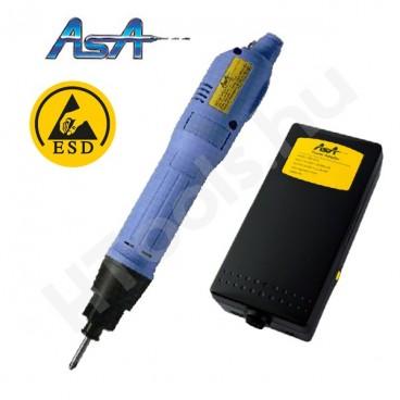 ASA-6500PS-ESD elektromos csavarozógép, automata lekapcsolás, 0.4-2 Nm, 550-850 f/perc