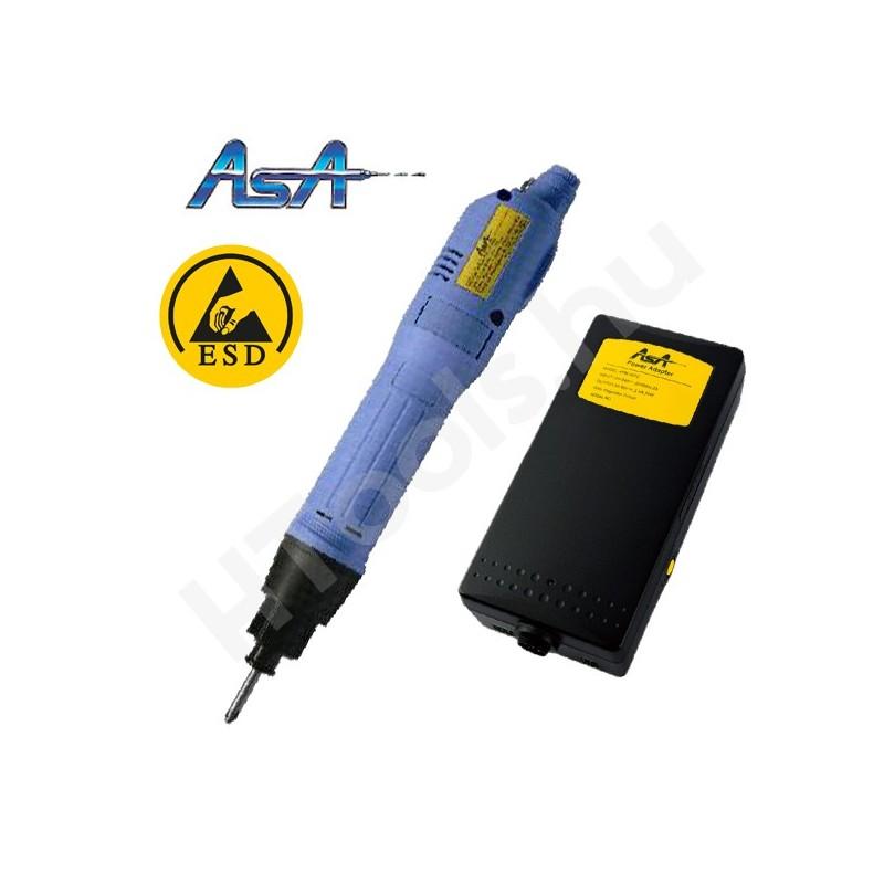 ASA-6800PS-ESD elektromos csavarozógép, automata lekapcsolás, 0.5-2.5 Nm, 450-700 f/perc